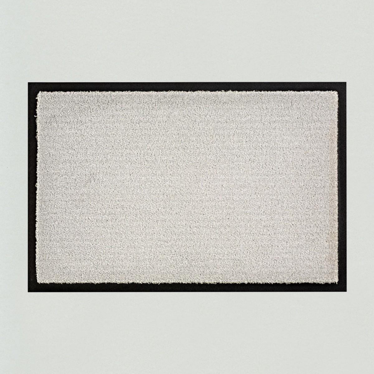 Fussmatten Aussenbereich fußmatte uni silbergrau kaufen verschiedene größen mattenkiste