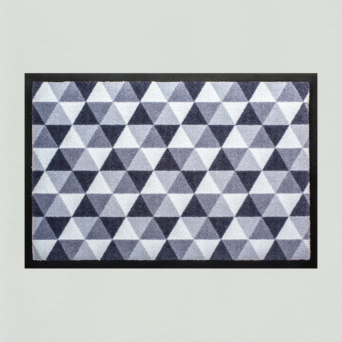 fu matte dreiecke grau kaufen verschiedene gr en mattenkiste. Black Bedroom Furniture Sets. Home Design Ideas