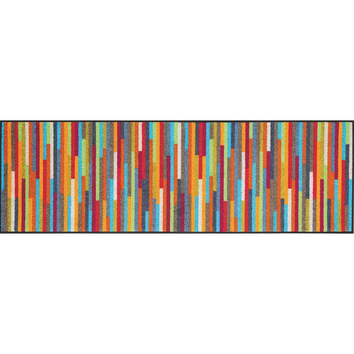 Schmutzfangmatte Wash wash küchenläufer mikado stripes kaufen mattenkiste