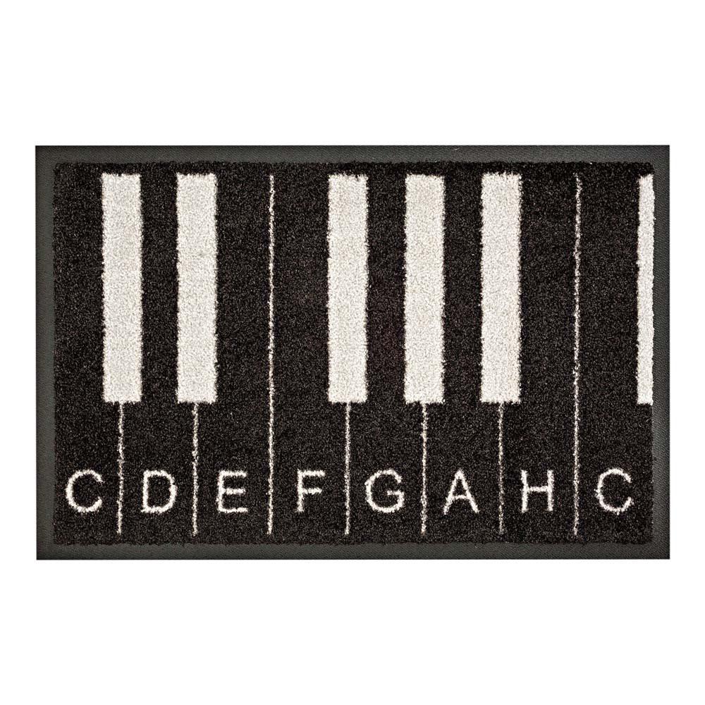 fu matte piano 1 kaufen schmutzfangmatte mit klaviermotiv tonleiter mattenkiste. Black Bedroom Furniture Sets. Home Design Ideas