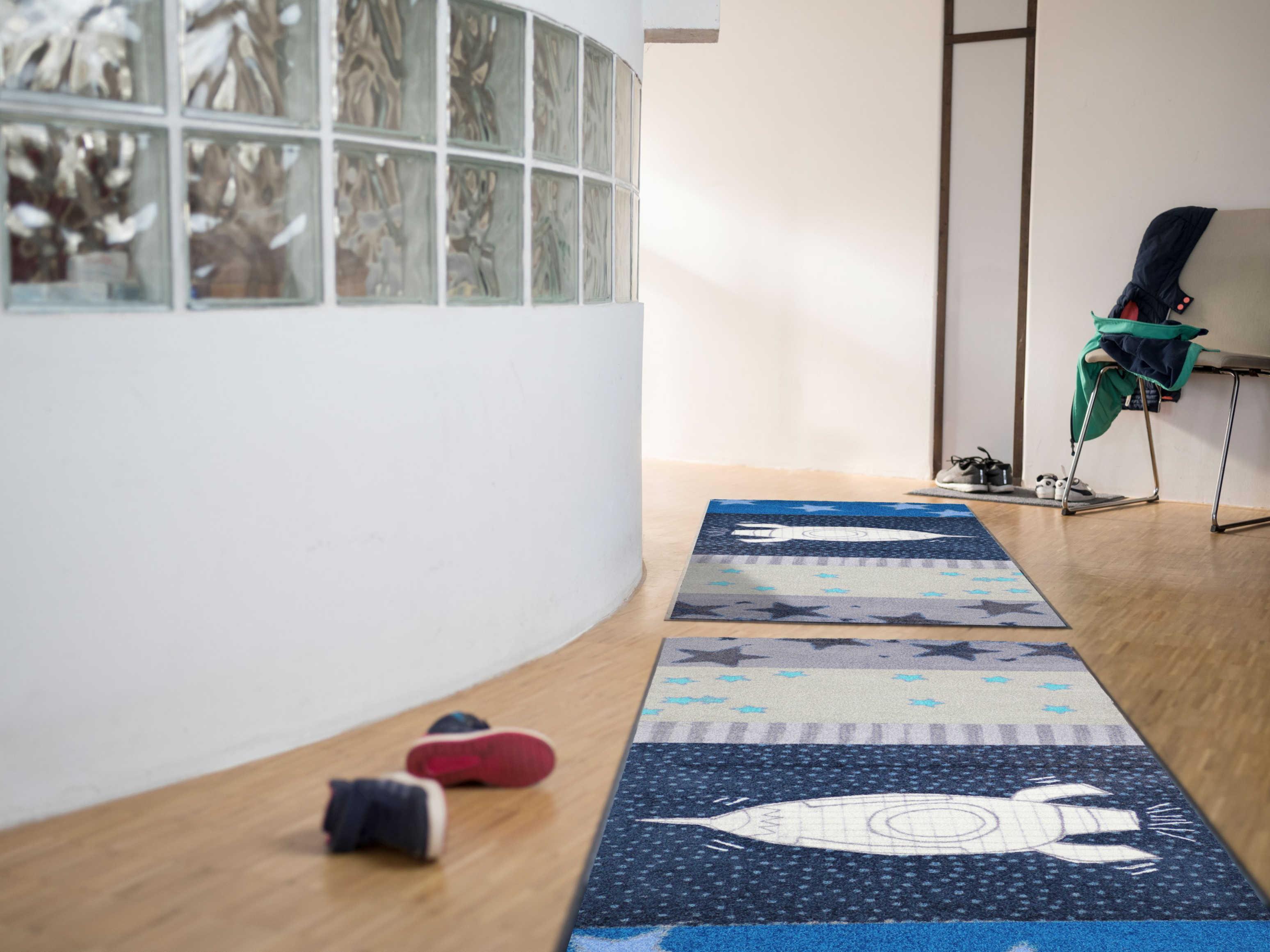 Fußmatte Space Time von Salonlöwe kaufen Mattenkiste