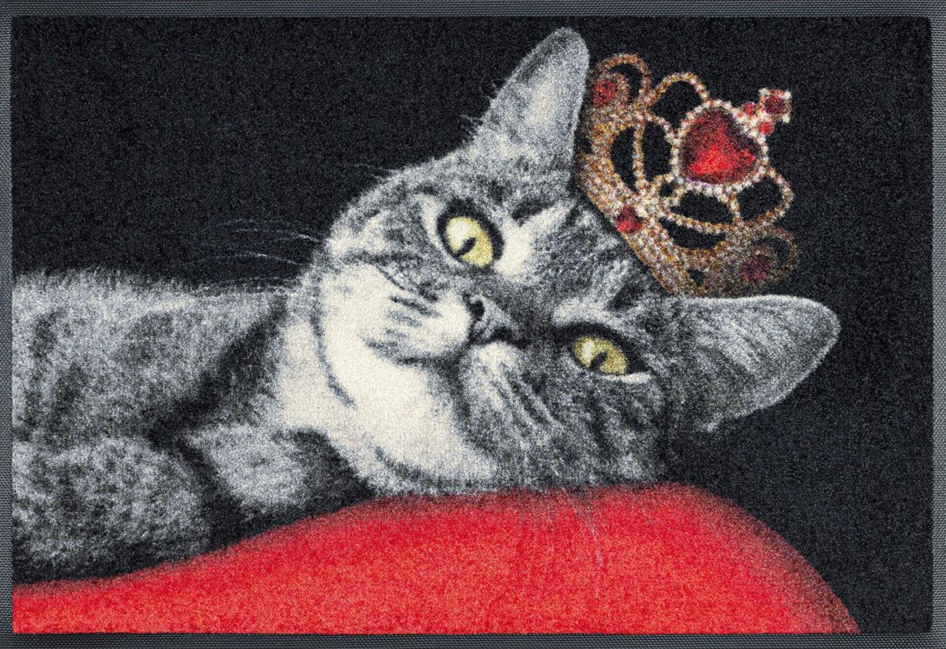 Fußmatte wash+dry Royal Cat waschbar Detailansicht