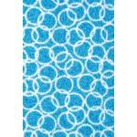 Schmutzfangmatte Fußmatte aqua waschbar