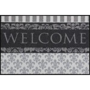Schmutzfangmatte waschbar Welcome