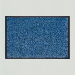 Fußmatte arctisblau meliert waschbar Gesamtansicht