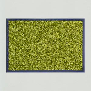 Fußmatte gelb meliert waschbar Gesamtansicht