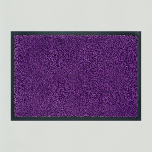 Fußmatte Violett meliert
