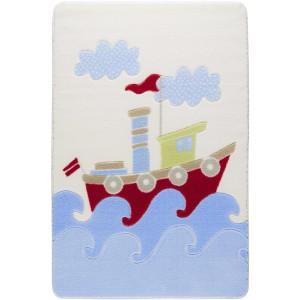 Kinderteppich Babyteppich Confetti Spielteppich Baby Ship