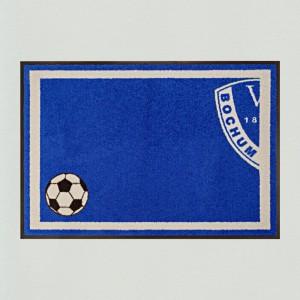 Fußball Bochum 85x115cm mit Trittrand Sonderposten