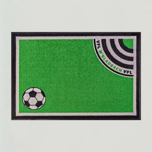 Fußmatte Fußball Gladbach 85x115cm mit Trittrand Sonderposten