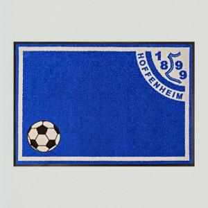 Fußmatte Fußball Hoffenheim waschbar
