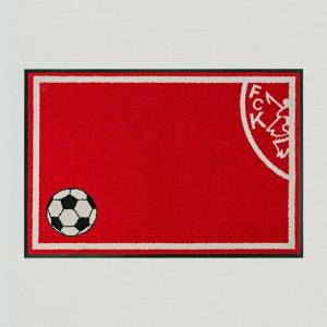 Fußmatte Fußball Kaiserslautern waschbar