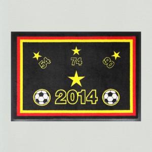 Fußmatte Fußball WM Sterne 3