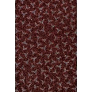 Schmutzfangmatte Fußmatte dunkelbraun waschbar