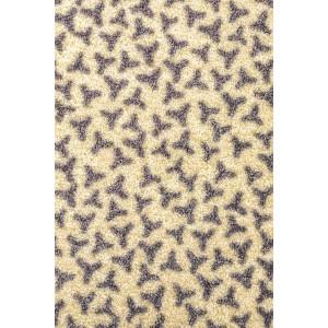 Fußmatte Schmutzfangmatte Elfenbein waschbar