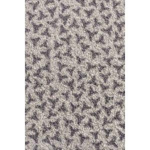 Schmutzfangmatte Fußmatte hellgrau waschbar