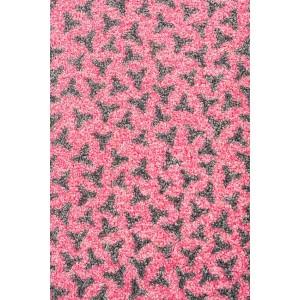 Fußmatte Schmutzfangmatte rosa waschbar