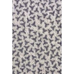 Schmutzfangmatte Fußmatte silbergrau waschbar