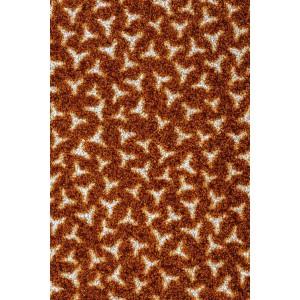 Schmutzfangmatte Fußmatte braun waschbar