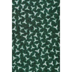 Schmutzfangmatte Fußmatte dunkelgrün waschbar
