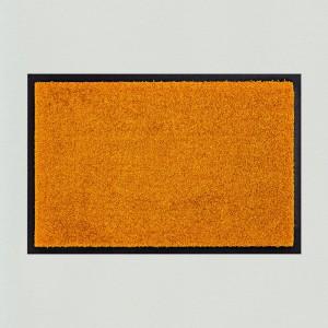 Fußmatte uni gold waschbar Gesamtansicht