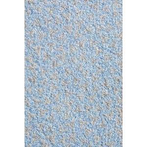 Fußmatte Schmutzfangmatte hellblau waschbar