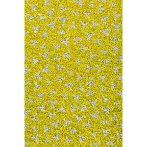 Schmutzfangmatte Fußmatte lindgrün waschbar