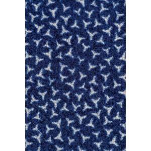 Schmutzfangmatte Fußmatte marineblau waschbar