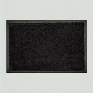 Fußmatte waschbar schwarz