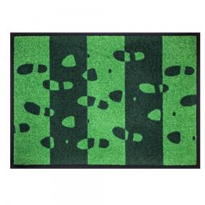 Fußmatte Footprint grün