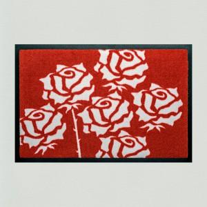 Fußmatte Rosen 1