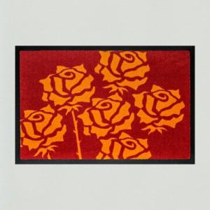 Fußmatte Rosen 3