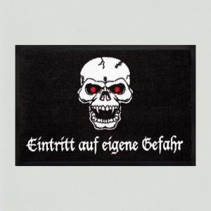 Fußmatte Totenkopf 1