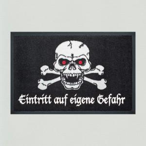 Fußmatte Totenkopf 2