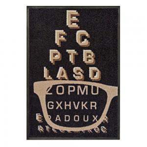 Fußmatte Optiker 1 85x115cm mit Trittrand Sonderposten