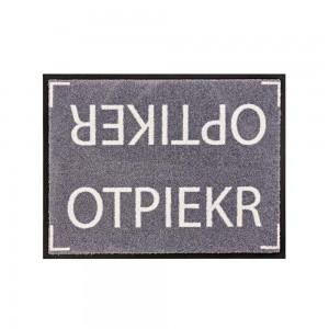 Fußmatte Optiker 4 60x85cm mit Trittrand Sonderposten