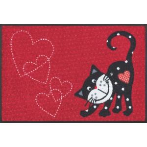 Fußmatte Romeo In Love waschbar Detailansicht