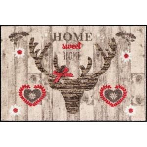Schmutzfangmatte Salonlöwe Deer Wood waschbar