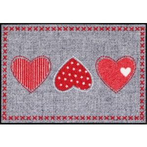 Schmutzfangmatte waschbar Salonlöwe Heart Application