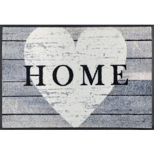 Fußmatte Heart at Home waschbar Detailansicht