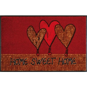 Fußmatte Home Hearts waschbar Detailansicht