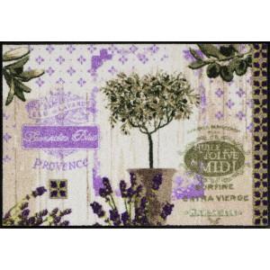 Schmutzfangmatte Salonlöwe Provence Collage waschbar