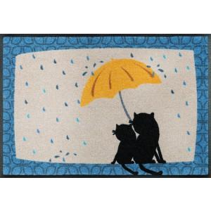 Fußmatte Regen waschbar Detailansicht