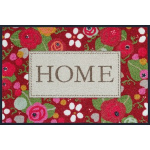Fußmatte wash+dry Rose Cottage waschbar Detailansicht