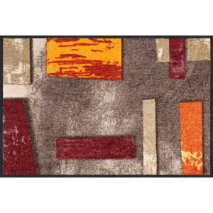 salonlöwe-schmutzfangmatte-wohnung-eingangsbereich-abstrakt-clay-waschbar-75x120