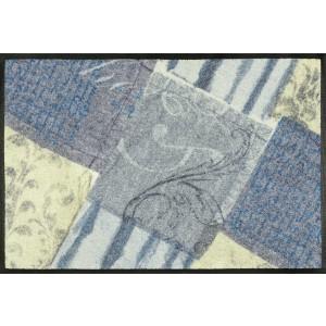 Fußmatte wash+dry Blueprint waschbar Detailansicht