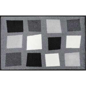 Fußmatte wash+dry Boxpark Grey waschbar Detailansicht