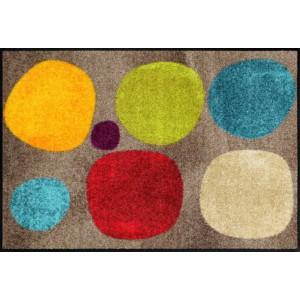 Schmutzfangmatte Broken Dots colourful waschbar Salonlöwe Fußmatte