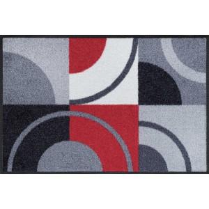 Fußmatte wash+dry Circle Lines waschbar Detailansicht