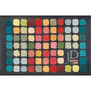 wash+dry Fußmatte Colour Palette waschbar Detailansicht